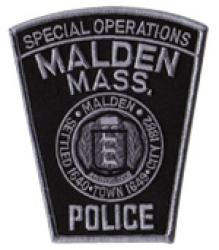 Malden Police Special Ops Patch