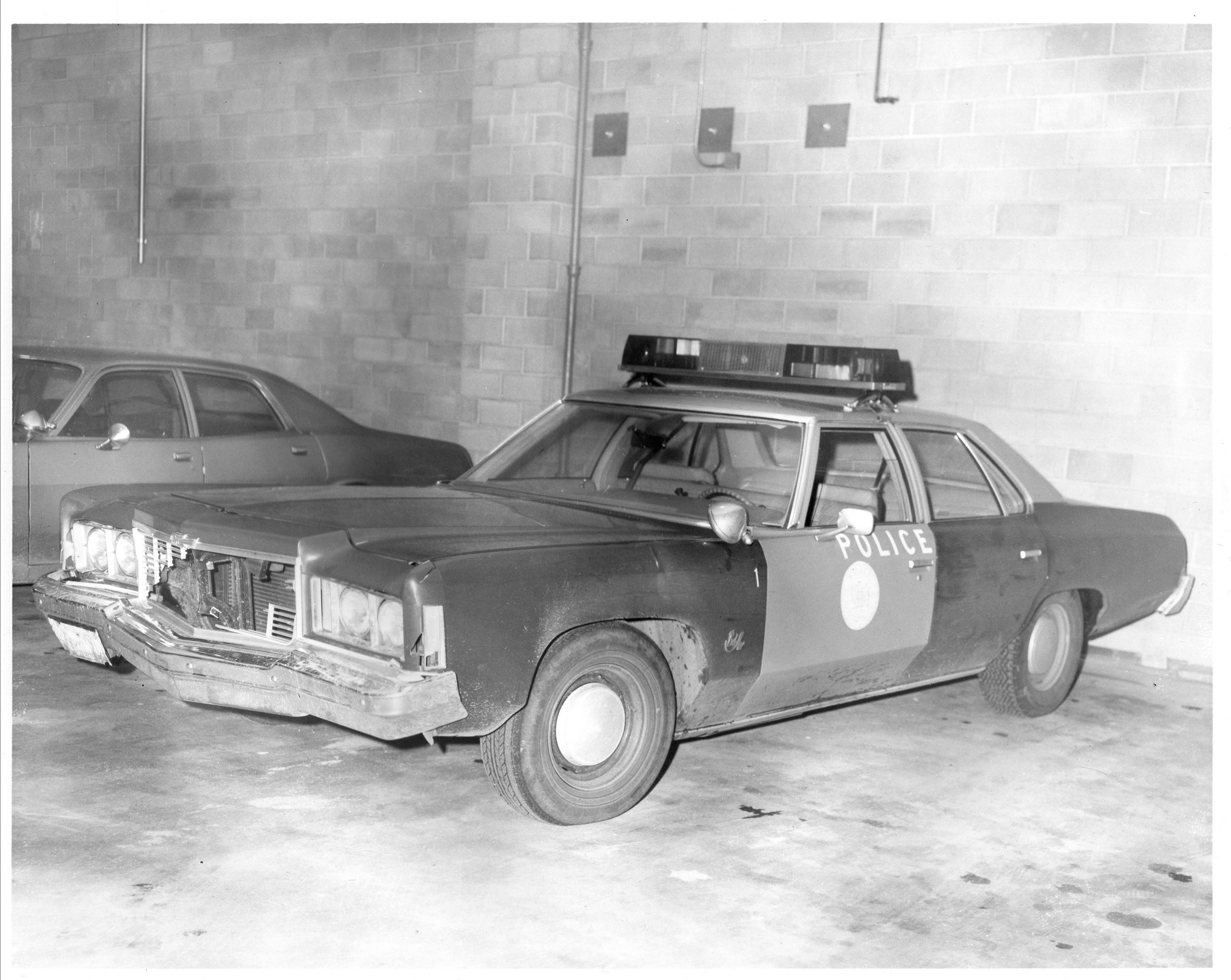 1970's Era Malden Police Cruiser