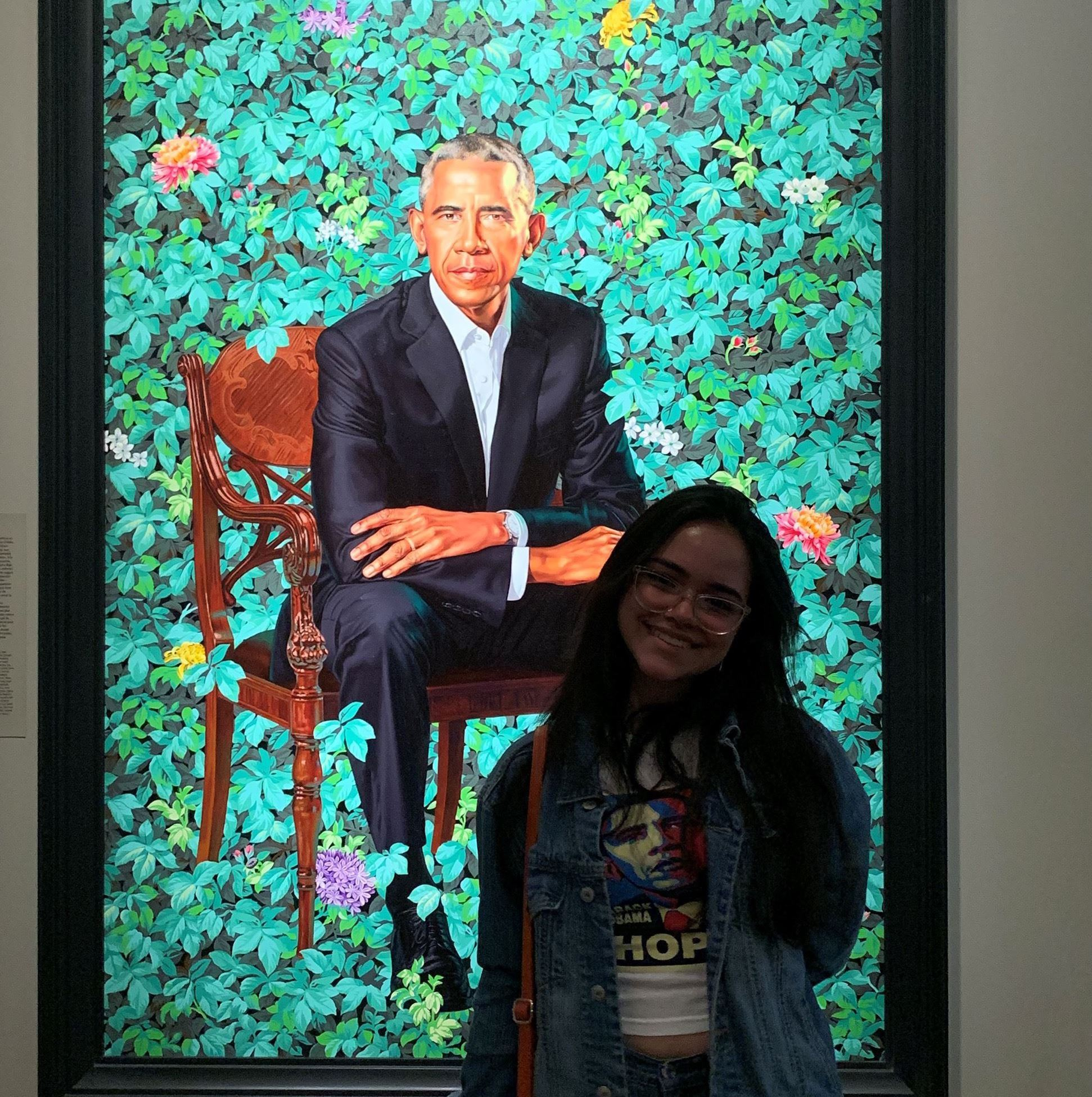 Barrack Obama Photo at Portrait Gallery