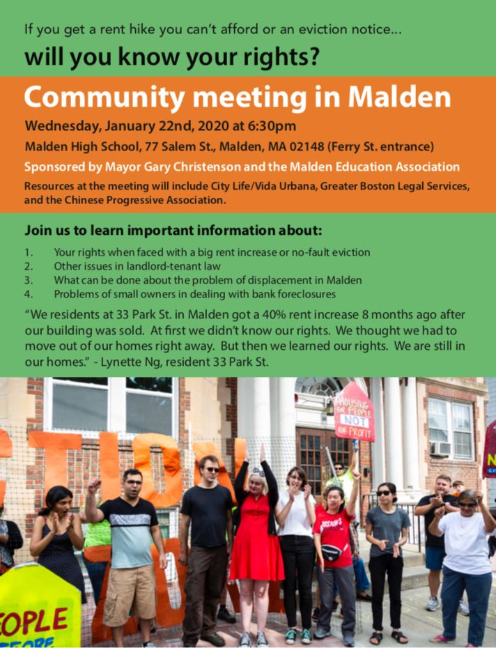 Community Meeting on Housing