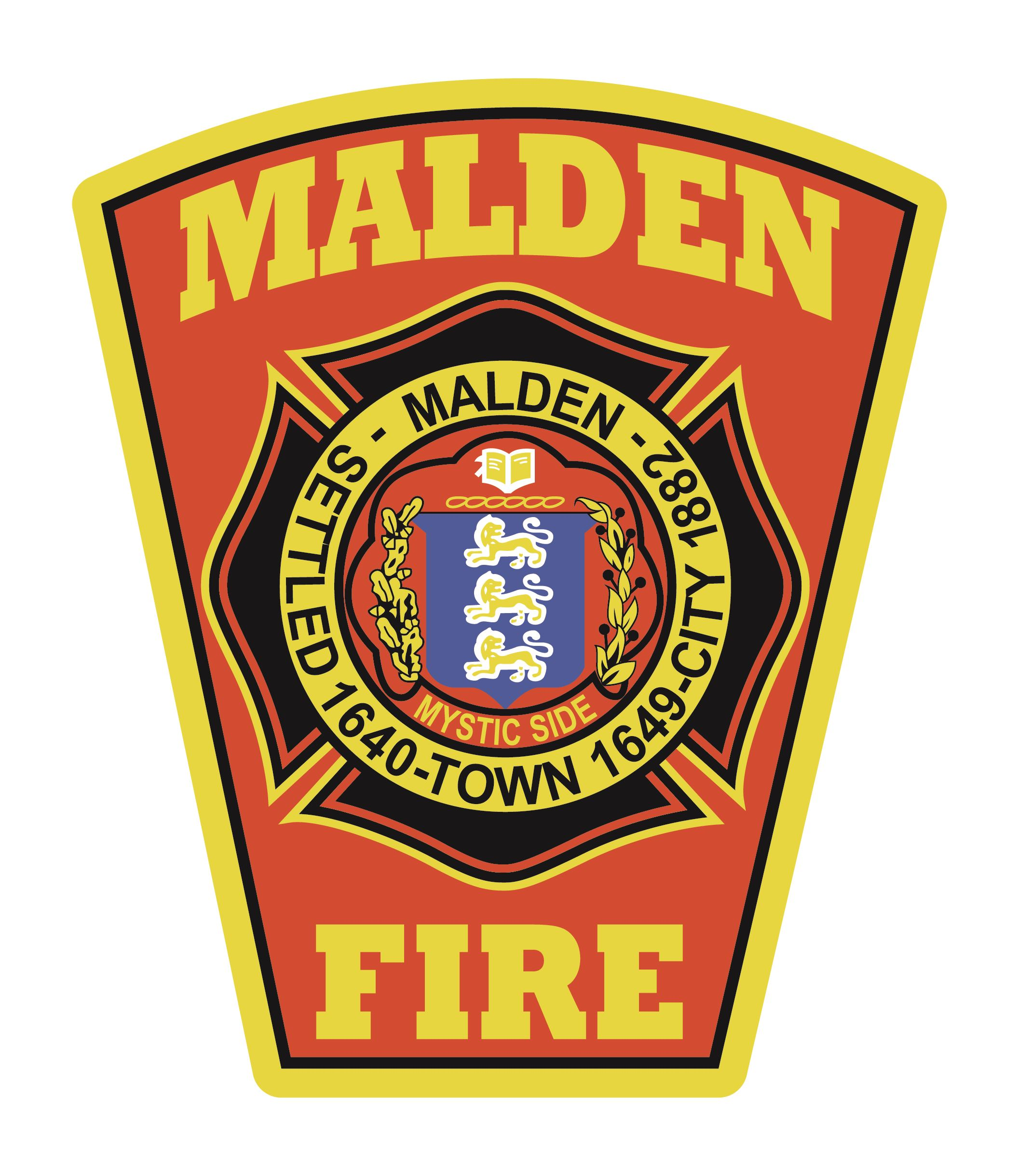 Malden Fire Patch Logo