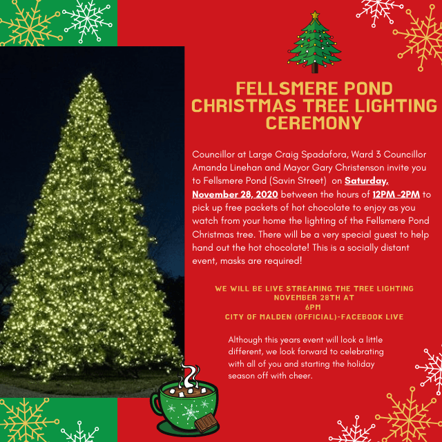 fellsmere pond tree lighting 2020 flyer