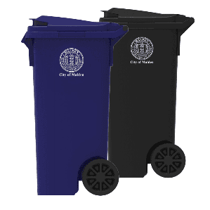 Malden Trash and Recycling Carts